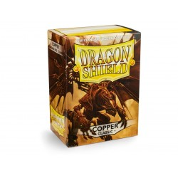 Protèges cartes Dragon Shield - Copper