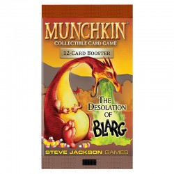 12 Boosters Munchkin CCG - The Desolation of Blarg