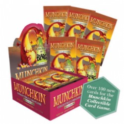 Boite de 24 Boosters Munchkin CCG - The Desolation of Blarg
