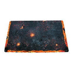 Blackfire Playmat - Arena Edition Volcano - Ultrafine 2mm