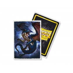 100 Protèges cartes Dragon Shield Illustrés Draxis