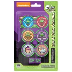 Unplugged Teenage Mutant Ninja Turtles Dice & Token HeroClix
