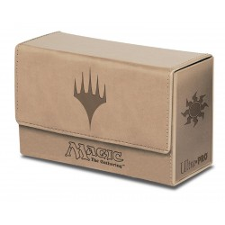 DOUBLE Flip Box White Mana Magic The Gathering - Ultra Pro
