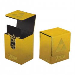 Flip Box he Legend of Zelda: Gold Tri-Force - Ultra Pro