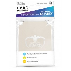 Séparateurs de Cartes Ultimate Guard Sable