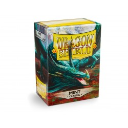 Protèges cartes Dragon Shield - Mint
