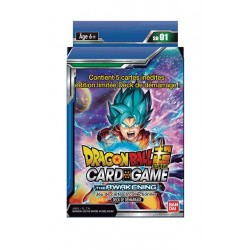 VF - Starter Deck: Le Réveil - Dragon Ball Super TCG