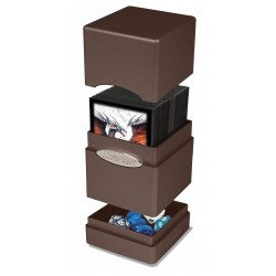 Satin Tower Box Ultra Pro - Dark Chocolate