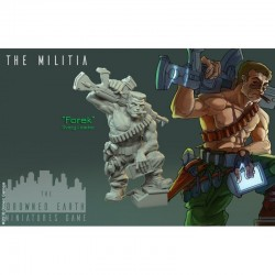 Forek (Inclue dans le starter) - THE MILITIA - THE DROWNED EARTH