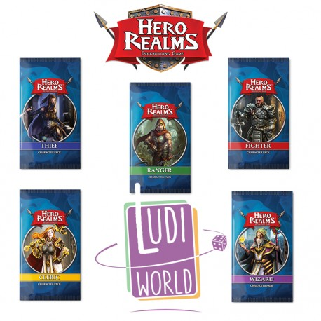 Collection complète Character Hero Realms