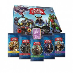 VF Hero Realms Pack Base + 5 Decks Héros