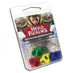Set de 4 Dés 10 Hero Realms