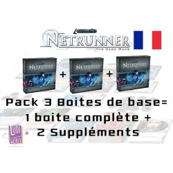 Android : Netrunner - Pack 3 Boites de Base VF