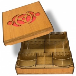 Blackfire Card Crate - Gears