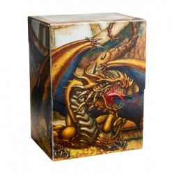 Dragon Shield Deck Shell - Gold
