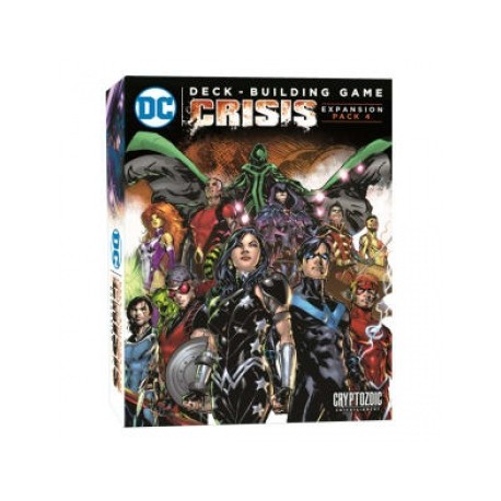 DC Comics Deck Building Game: Crisis Expansion (Pack 4)