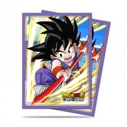 65 Protèges Cartes Dragon Ball Super - Explosive Spirit Son Goku- Ultra Pro