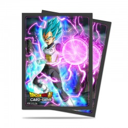 65 Protèges Cartes Dragon Ball Super -God Charge Vegeta- Ultra Pro