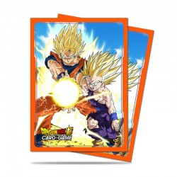 65 Protèges Cartes Dragon Ball Super -Father-Son Kamehameha- Ultra Pro