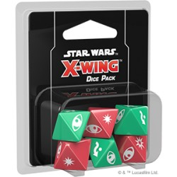 Set de Dés X Wing V2 - Dice Pack