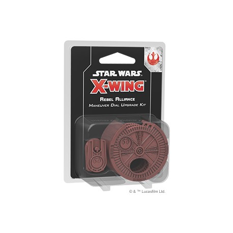 Rebel Alliance Maneuver Dial Upgrade Kit - X Wing V2
