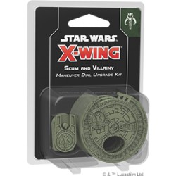 Scum and Villainy Maneuver Dial Upgrade Kit - X Wing V2