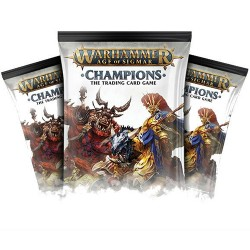 8 Boosters Warhammer Age of Sigmar : Champions