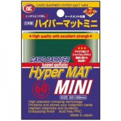 Sachet de 60 Protèges Cartes SMALL Hyper Mat Green