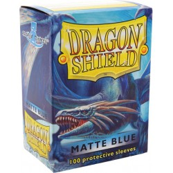 Protèges cartes Dragon Shield - Matte Blue