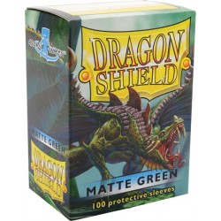 Protèges cartes Dragon Shield - Matte Green