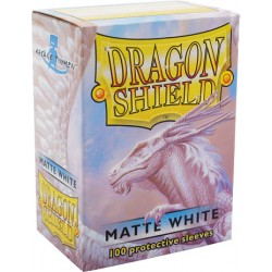 Protèges cartes Dragon Shield - Matte White