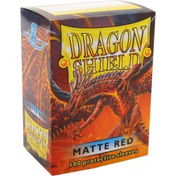 Protèges cartes Dragon Shield - Matte Red