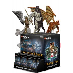 12 Boosters de 1 Figurine Magic: The Gathering Creature Forge: Overwhelming Swarm
