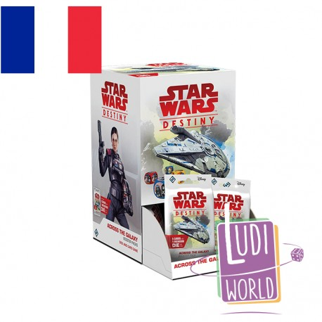 VF - Boite de 36 Boosters A Travers la Galaxie - Star Wars Destiny
