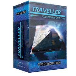 Ship Deck Type S Scout - Traveller CCG