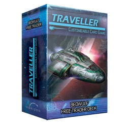 Beowulf Free Trader Ship Deck - Traveller CCG