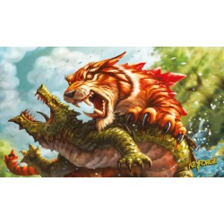 Tapis de jeu KeyForge: Mighty Tiger Playmat