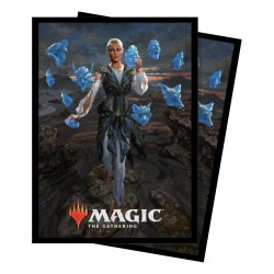 100 Protège-Cartes Magic The Gathering - Commander 2018 Estrid, the Masked