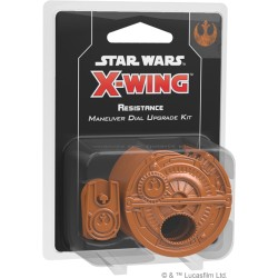 Resistance Maneuver Dial Upgrade Kit - X Wing V2