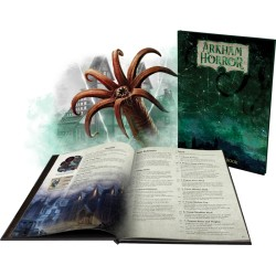 VO - Arkham Horror 3rd Edition Deluxe Rulebook
