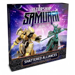 Starship Samurai: Shattered Alliances Expansion - Plaid Hat Games