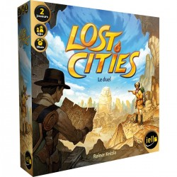 IELLO - LOST CITIES : LE DUEL