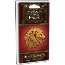 Maison Lannister Deck d'introduction - Le Trône de Fer JCE V2