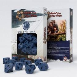 Legend of 5 Rings dice set: Crab Clan