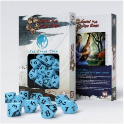 Legend of 5 Rings dice set: Crane Clan