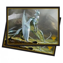 100 Protège-Cartes Magic The Gathering - Elder Dragons: Chromium, the Mutable