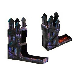 e-Raptor Dice Tower Castle FullPrint Lava