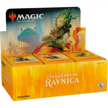 Boite de 36 Boosters ANGLAIS Guildes de Ravnica - Magic The Gathering