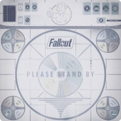 Please Stand By Gamemat - Fallout