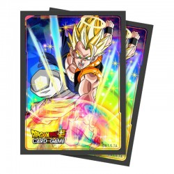 65 Protèges Cartes Dragon Ball Super - Gogeta - Ultra Pro